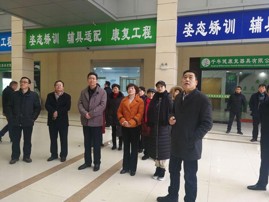 杨林副市长率民盟界别市政协委员赴安庆市健康养老示范园开展调研活动