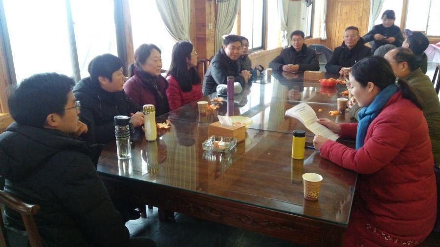 安庆师大支部与安庆职院支部开展联合学习交流活动