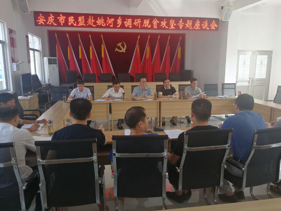 民盟安庆市委会赴岳西开展扶贫调研活动