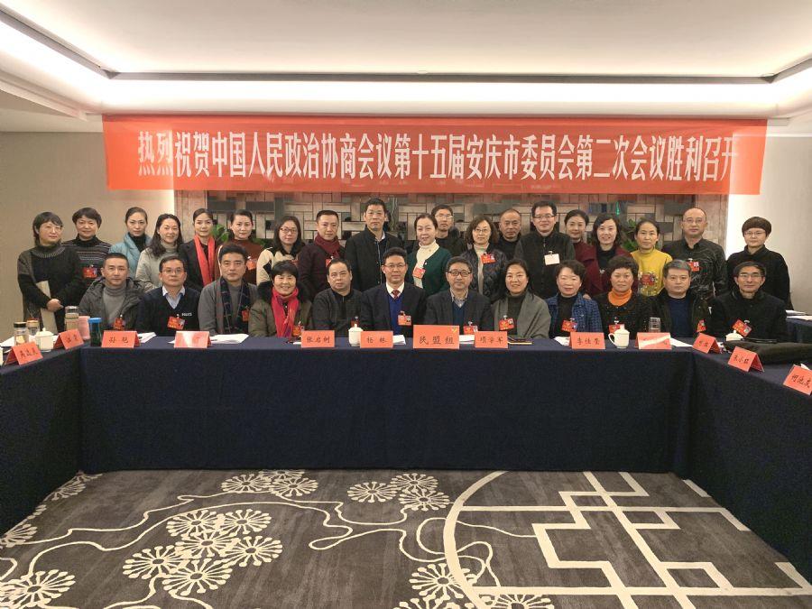"""民盟安庆市委积极参加""""两会""""围绕大局建言献策"""