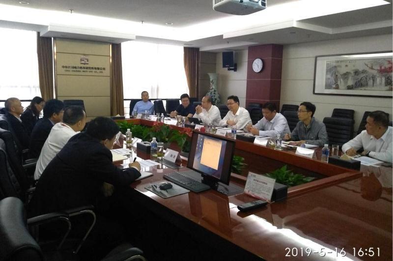 杨林考察中车株洲电力机车研究所公司