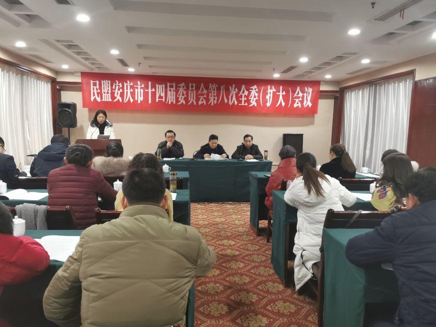 民盟安庆市委召开第十四届八次全委(扩大)会议