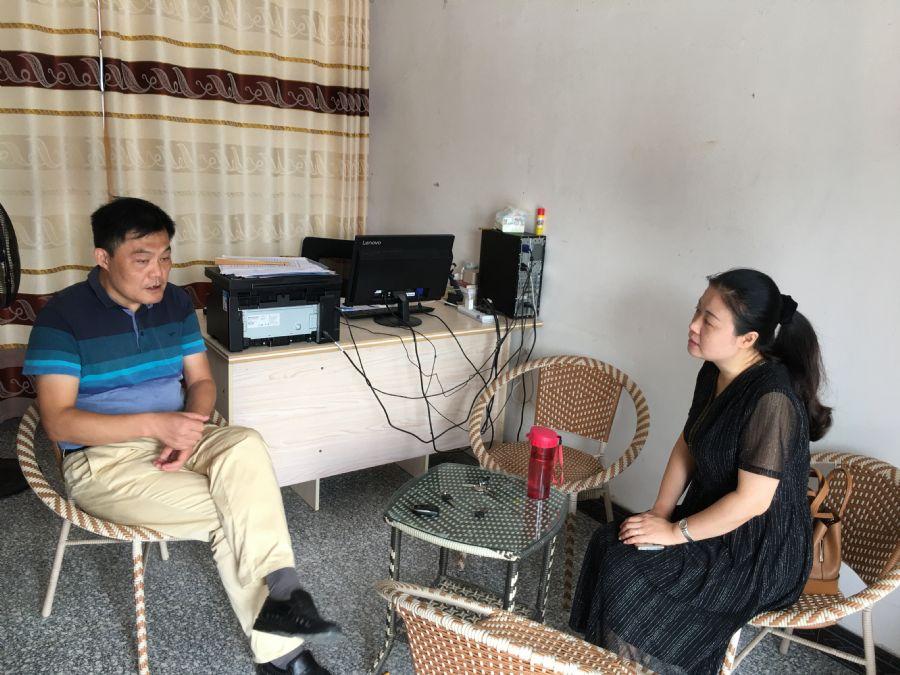 民盟安庆市委会赴望江县幸福村开展扶贫工作